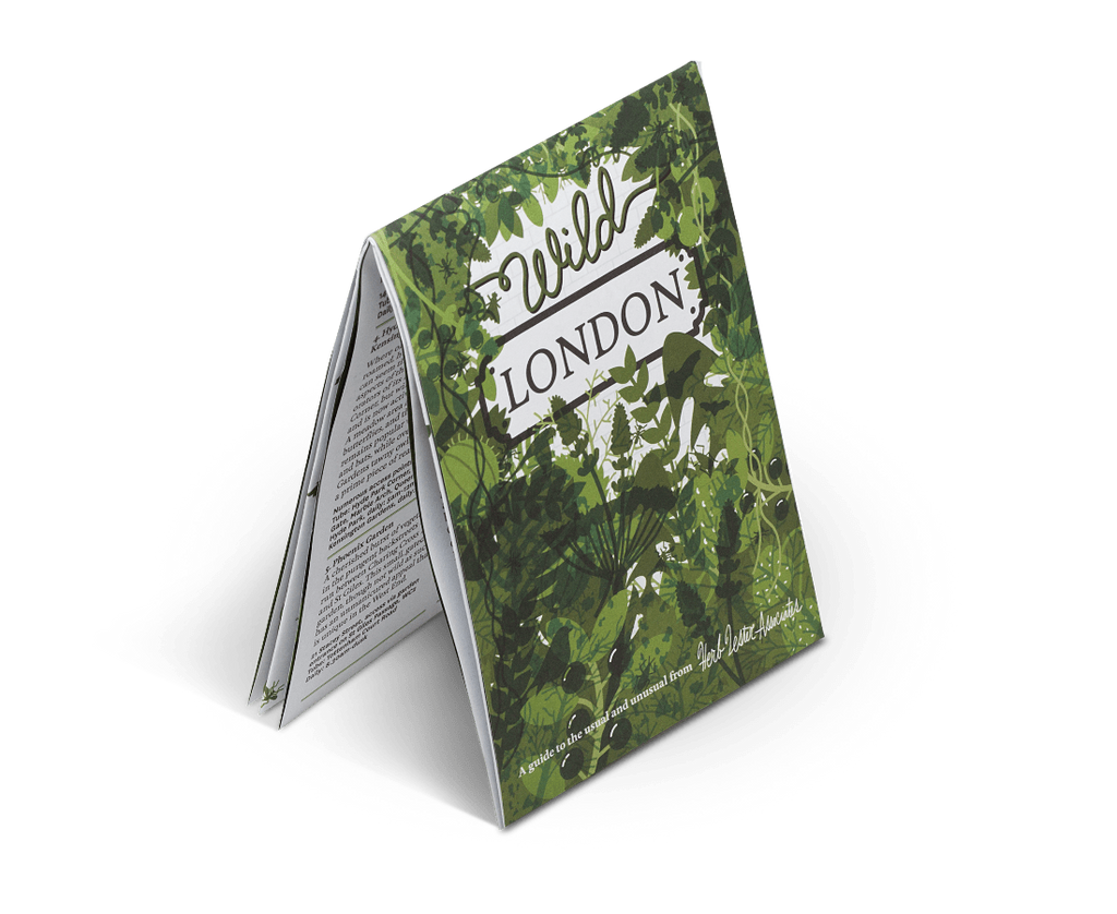 Herb Lester Novelty Wild London. City Guide & Map by Herb Lester