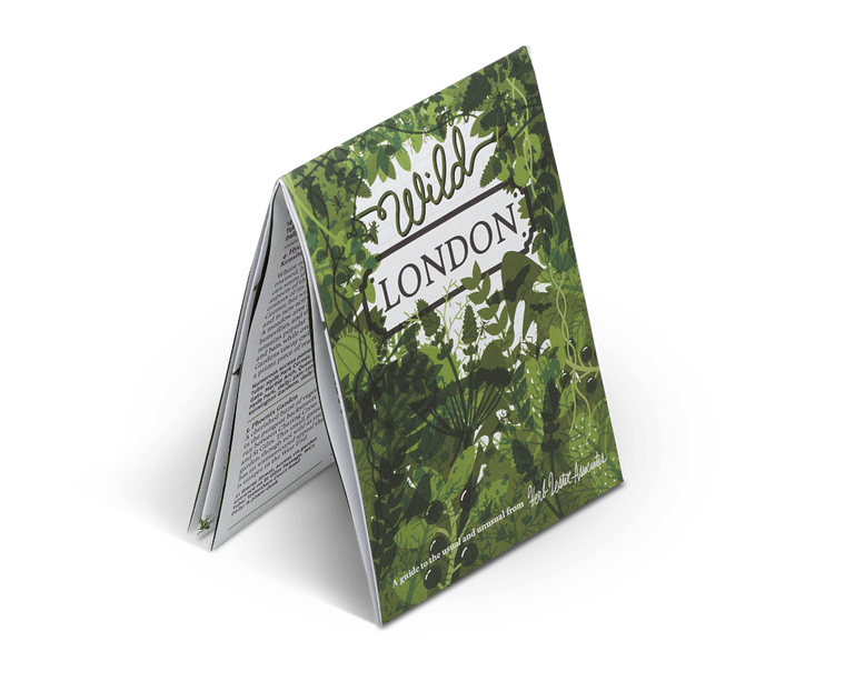Wild London. City Guide & Map by Herb Lester