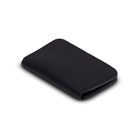 IEFrancis for CDS · Leather zip wallet in Black
