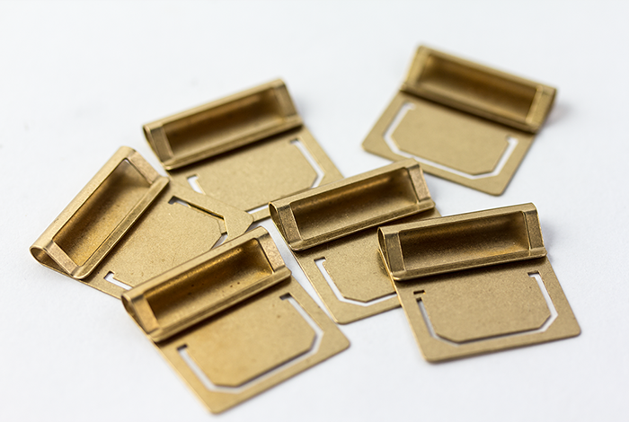 Travelers Company Japan Brass Index Clips. Compendium Design Store, Fremantle. AfterPay, ZipPay accepted.