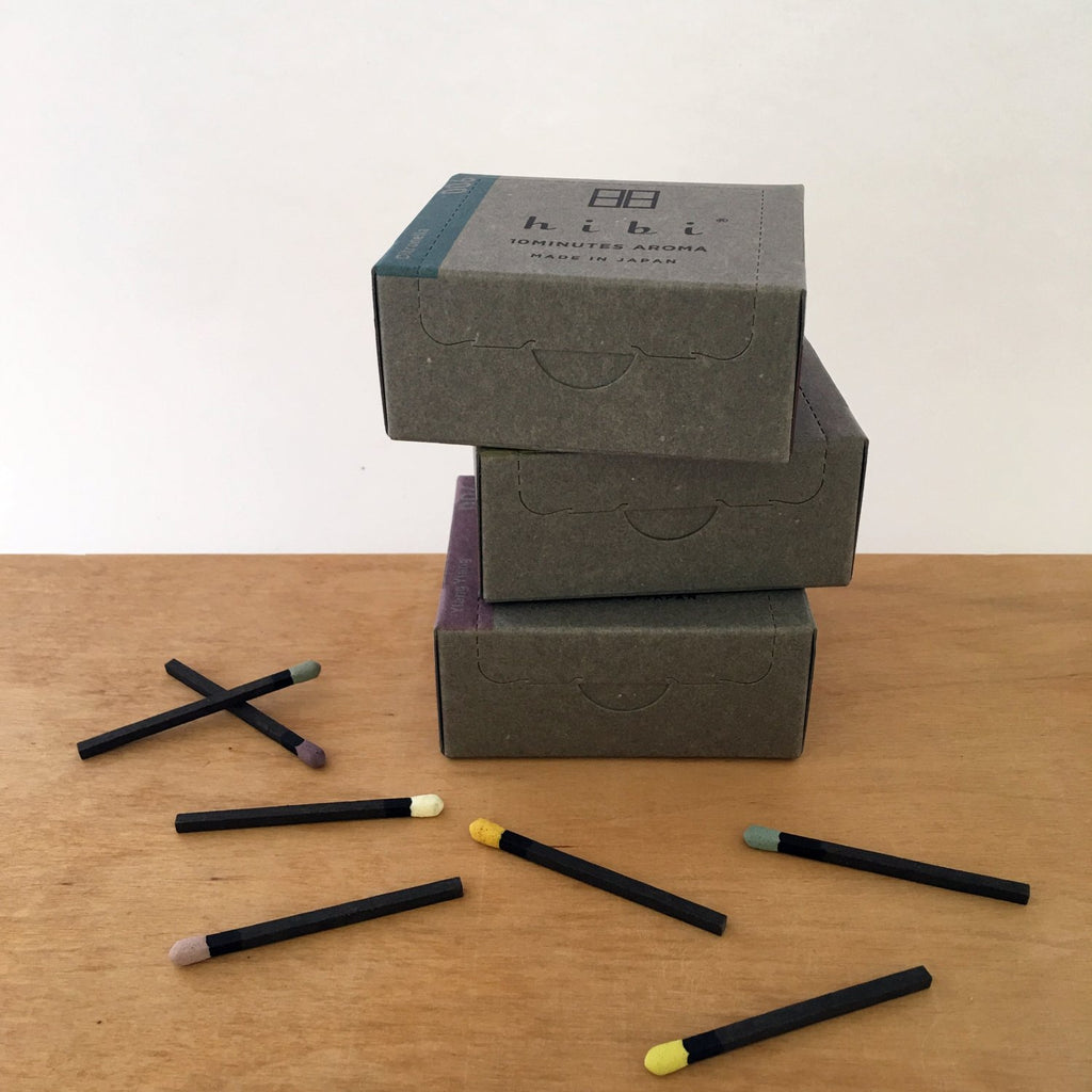Scented Self-lighting Incense Sticks - 'Modern' Large box. Compendium Design Store, Fremantle. AfterPay, ZipPay accepted.