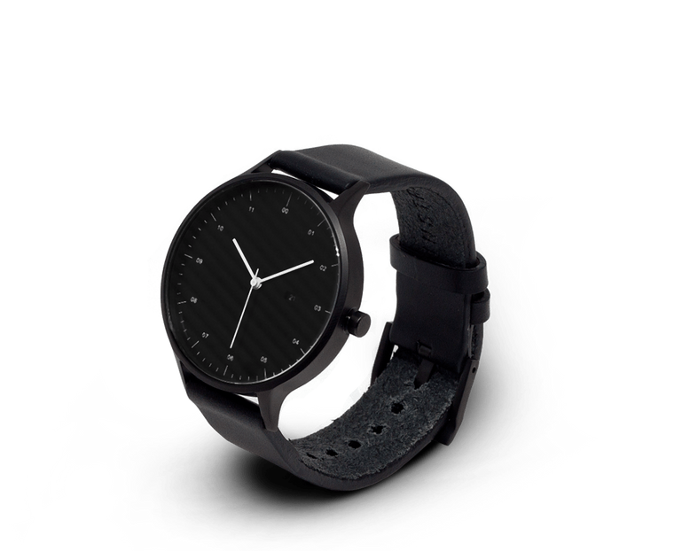 INSTRMNT 01-D Watch in all Black