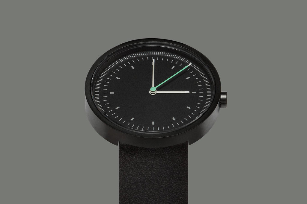 Aark Collective Interval Series Unisex Watch Black