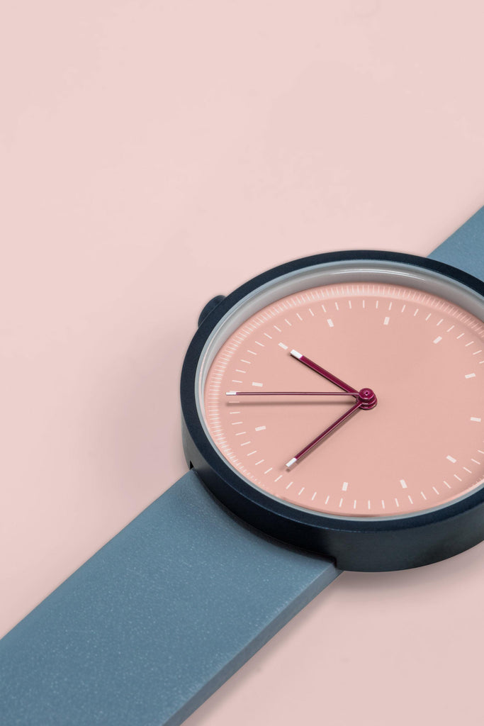 Aark Collective Interval Series Unisex Watch Navy