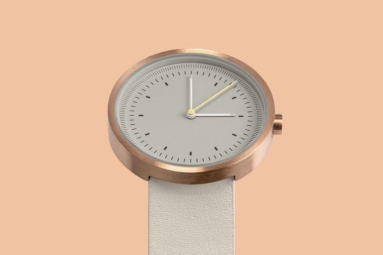 Aark Collective Interval Series Unisex Watch Rose Gold