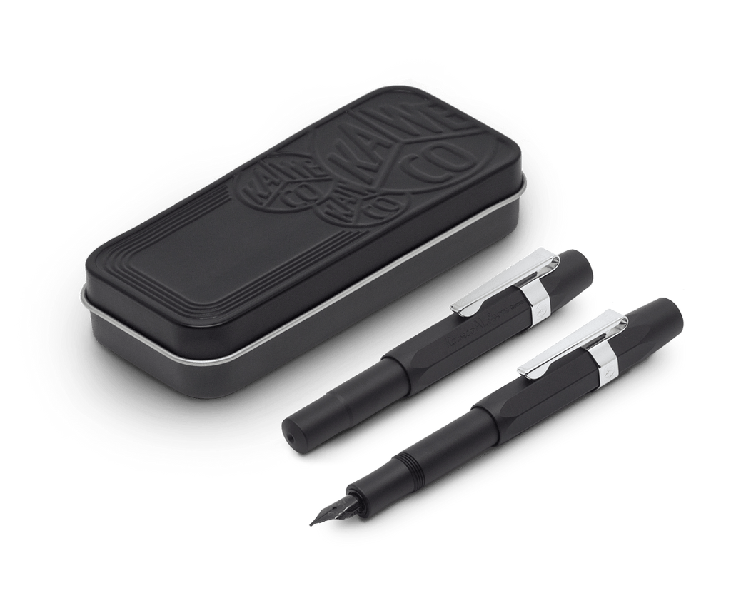 Kaweco AL Sport Fountain Pen Black Night Edition