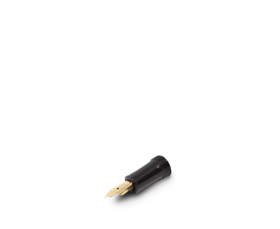 Kaweco Sport Classic Black Spare Fountain Pen front part nibs (Gold)