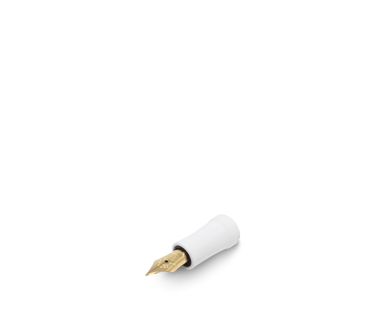 Kaweco Sport Classic White Spare Fountain Pen front part nibs (Gold)
