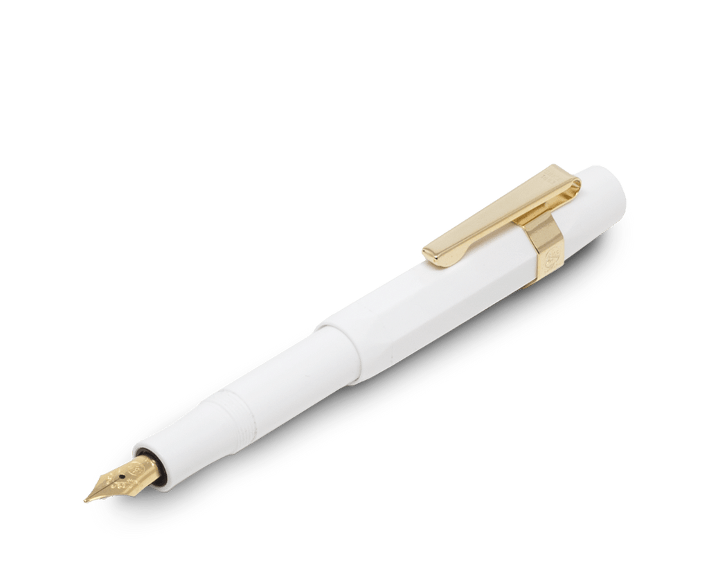 Kaweco Classic Fountain Pen in White (Medium nib). Kaweco. Compendium Design Store. AfterPay, ZipPay accepted.