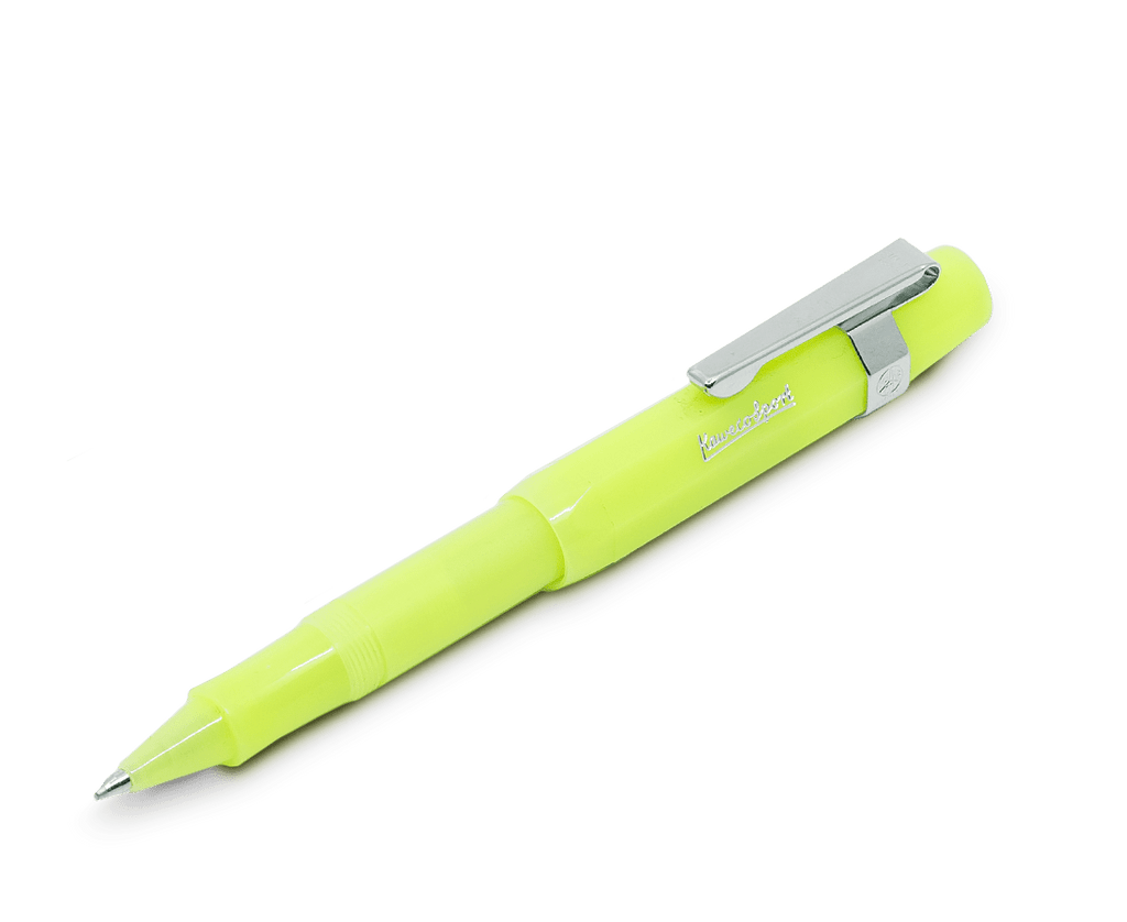 Kaweco Classic Sport Rollerball in Frosted Lime. Compendium Design Store, Fremantle. AfterPay, ZipPay accepted.