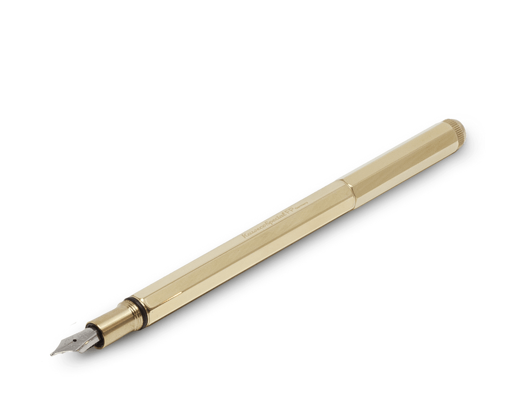 Kaweco Special Fountain Pen in Brass (Medium nib). Kaweco. Compendium Design Store. AfterPay, ZipPay accepted.