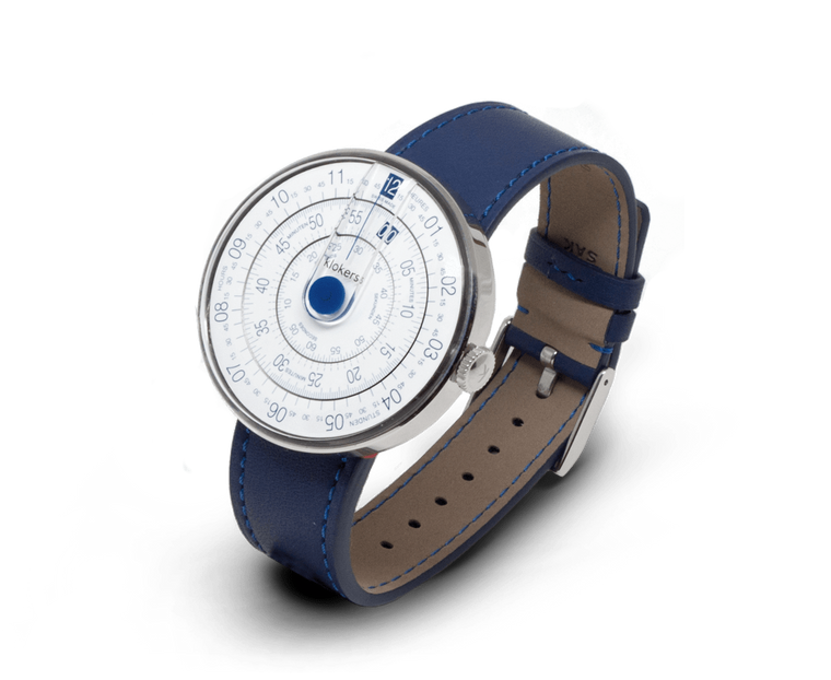 Klockers klok01 watch with Blue head