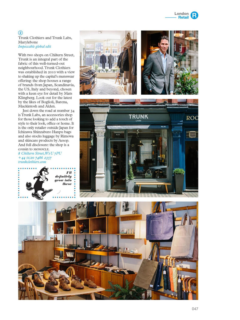 The Monocle Travel Guide No. 01 London (Updated Edition). Compendium Design Store, Fremantle. AfterPay, ZipPay accepted.