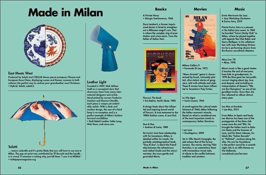 Lost in Milan City Guide. Compendium Design Store, Fremantle. AfterPay, ZipPay accepted.