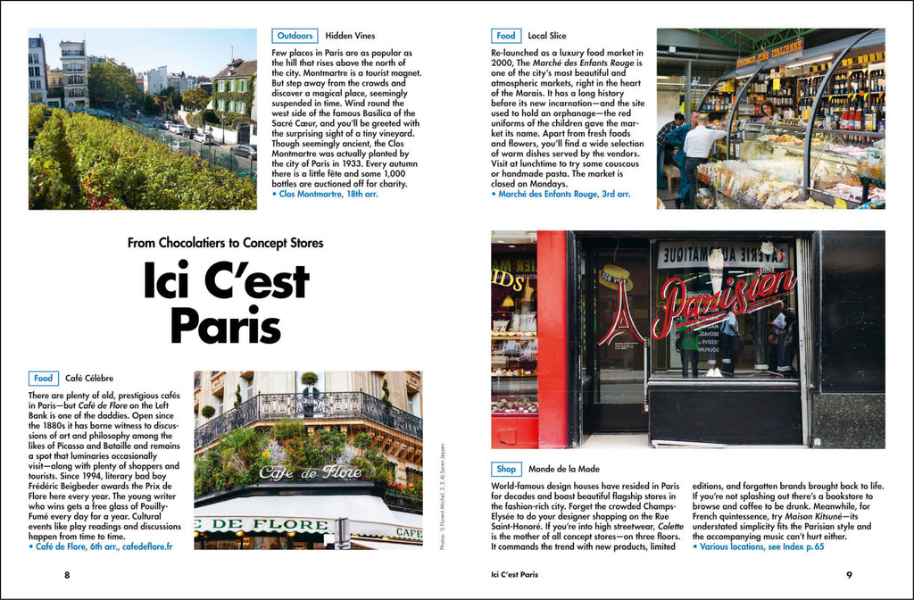 Lost In Paris (2nd Edition) City Guide. Compendium Design Store, Fremantle. AfterPay, ZipPay accepted.