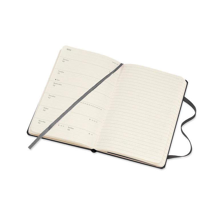Moleskine 2021 Diary Weekly Notebook Pocket Hardcover Black