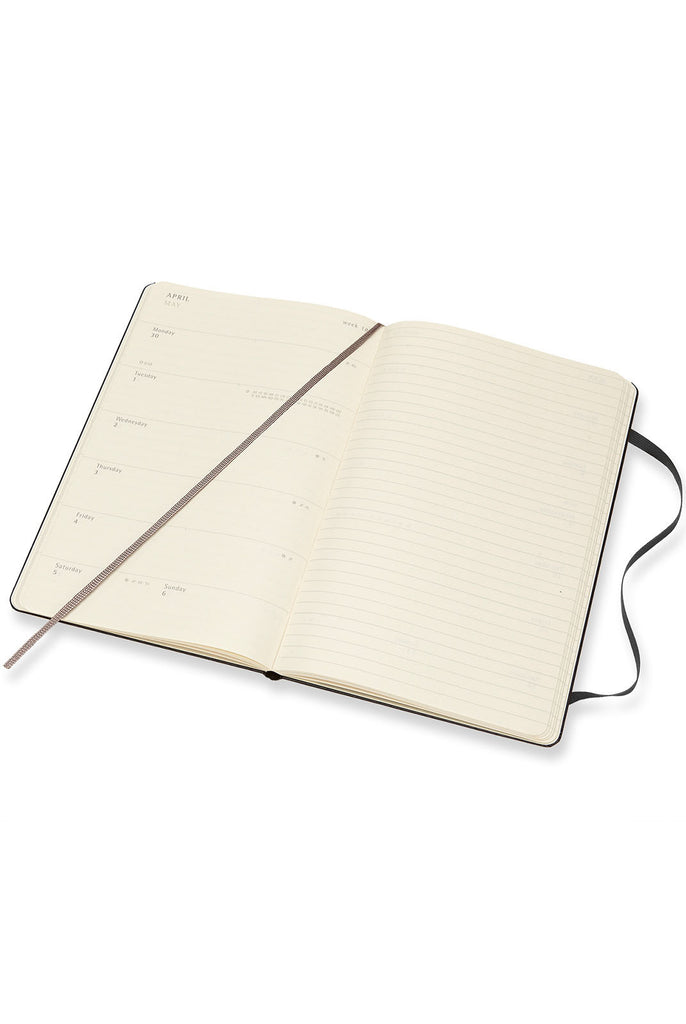 Moleskine 2018 Hard Cover Diary Weekly Notebook Large