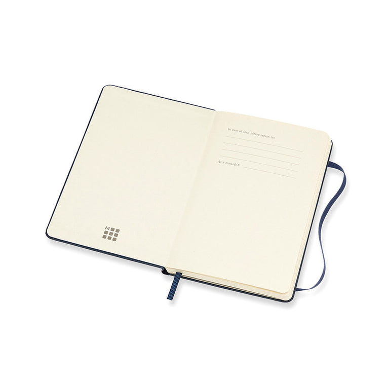 Moleskine 2021 Diary Weekly Notebook Pocket Hardcover Sapphire Blue