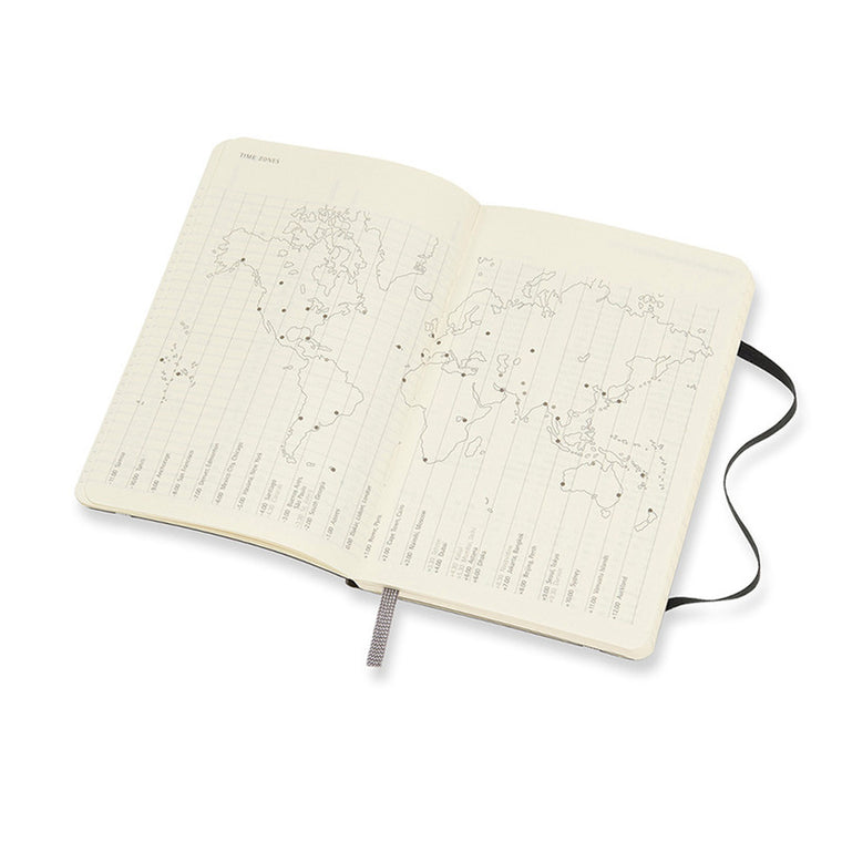 Moleskine 2021 Diary Weekly Notebook Pocket Softcover Black
