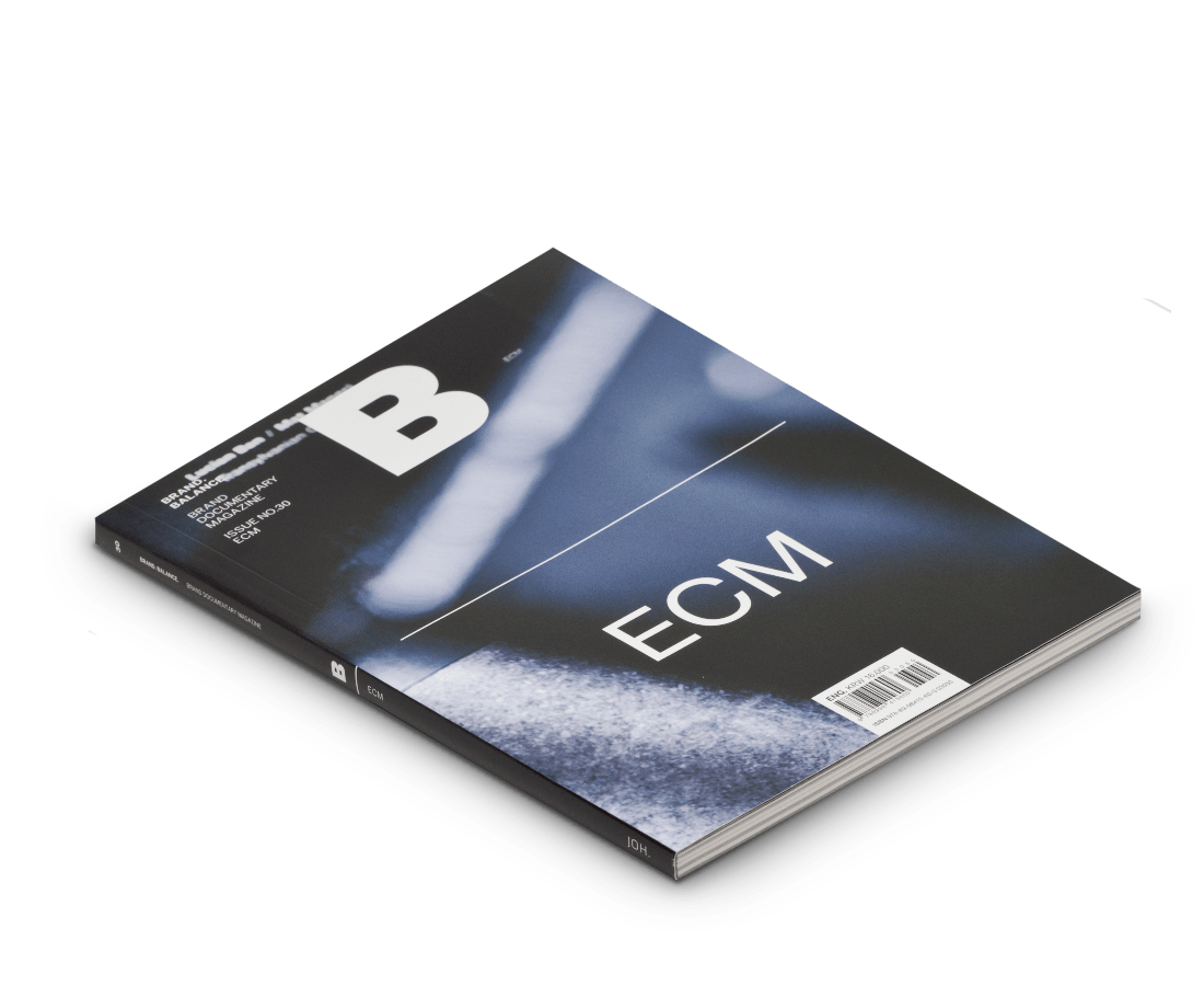 Magazine B Magazines BRAND Documentary Magazine No 30 ECM
