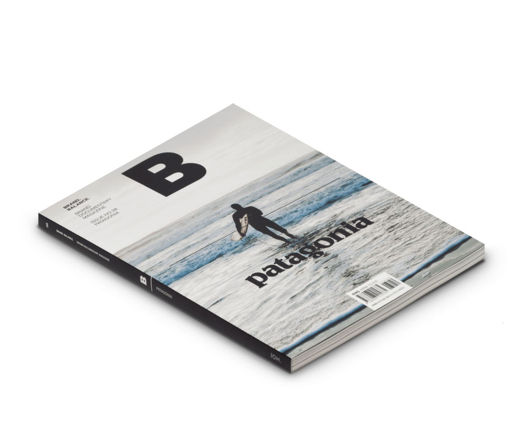 Brand Documentary Magazine No 38 Patagonia (Second Edition). Compendium Design Store, Fremantle. AfterPay, ZipPay accepted.