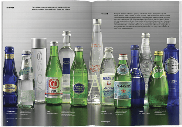 Brand Documentary Magazine No 40 San Pellegrino. Compendium Design Store, Fremantle. AfterPay, ZipPay accepted.