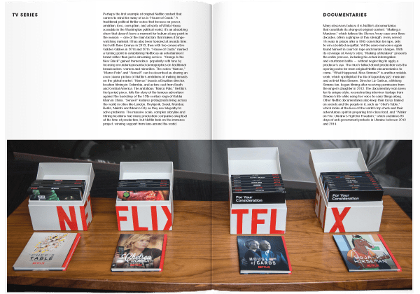 Brand Documentary Magazine No 49 Netflix. Compendium Design Store, Fremantle. AfterPay, ZipPay accepted.