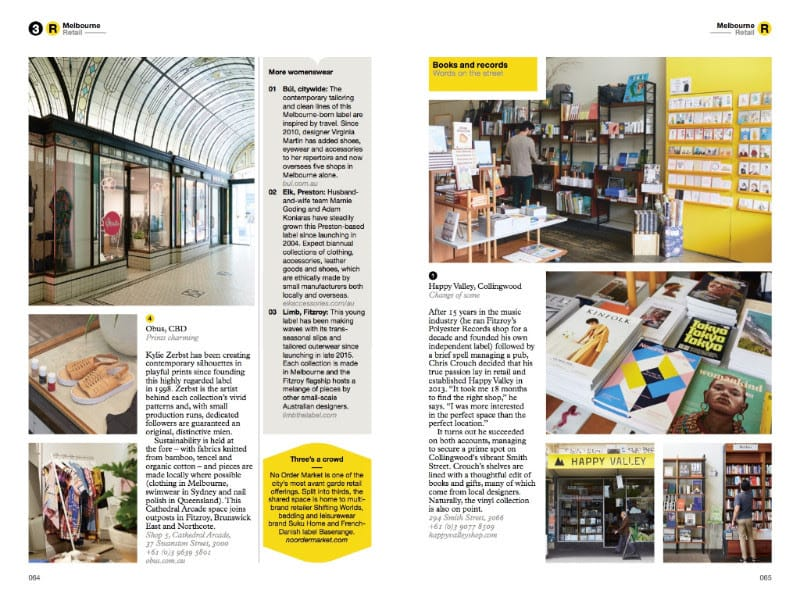 The Monocle Travel Guide to Melbourne No. 31. Monocle. Compendium Design Store. AfterPay, ZipPay accepted.