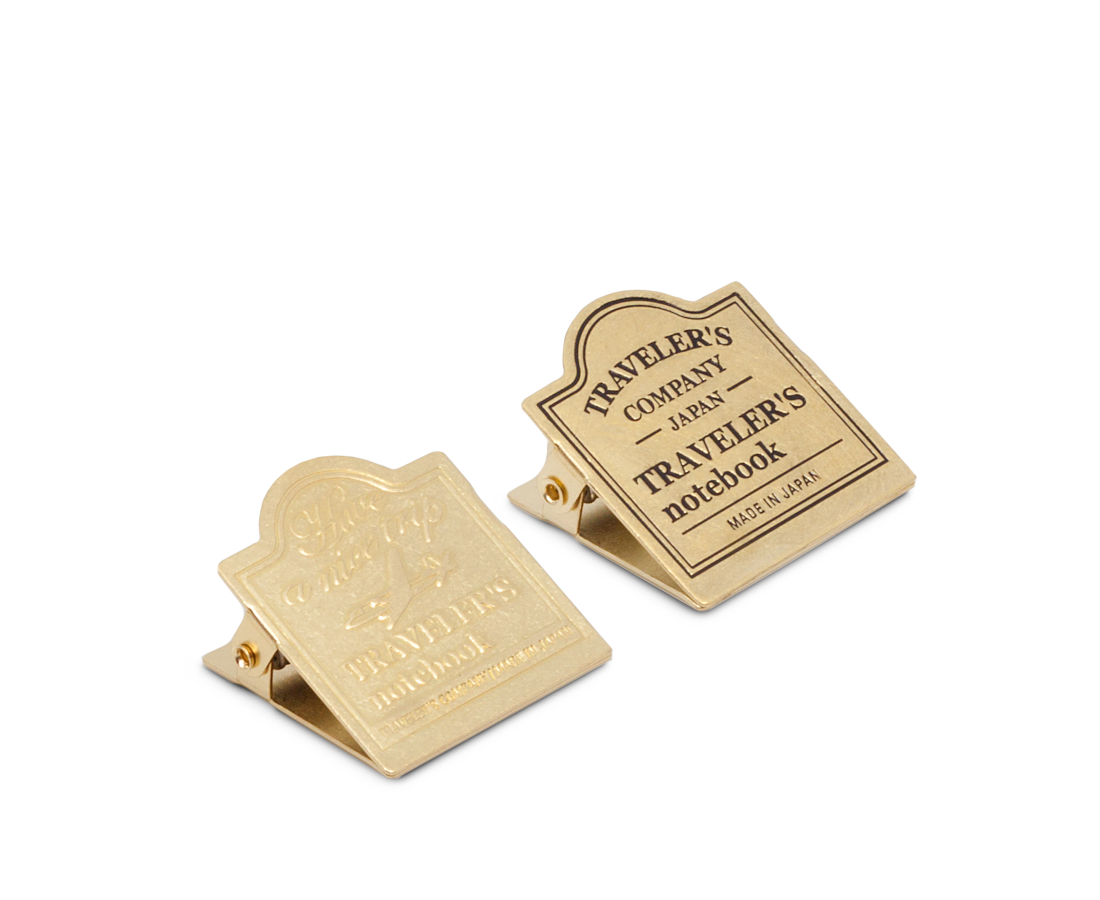Travelers Company Japan Brass Clip. Compendium Design Store, Fremantle. AfterPay, ZipPay accepted.