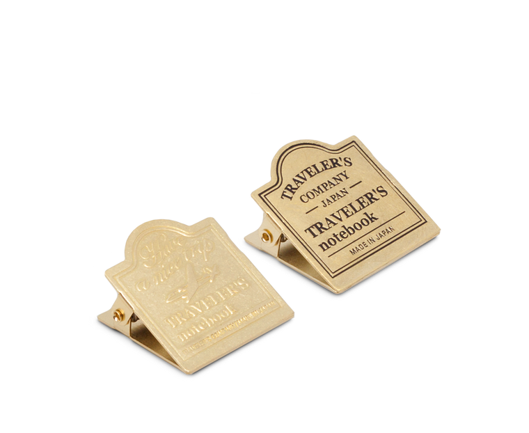 Traveler's Company Japan Brass Clip