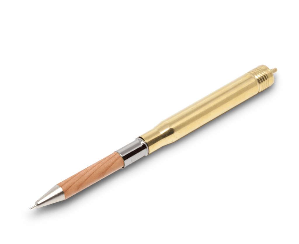 Traveler's Company Japan brass pen.Compendium Design Store, Fremantle. AfterPay.