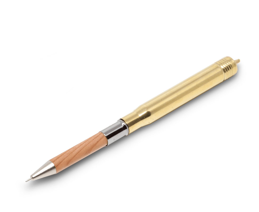 Traveler's Company Japan brass pen. Traveler's Company Japan. Compendium Design Store. AfterPay, ZipPay accepted.