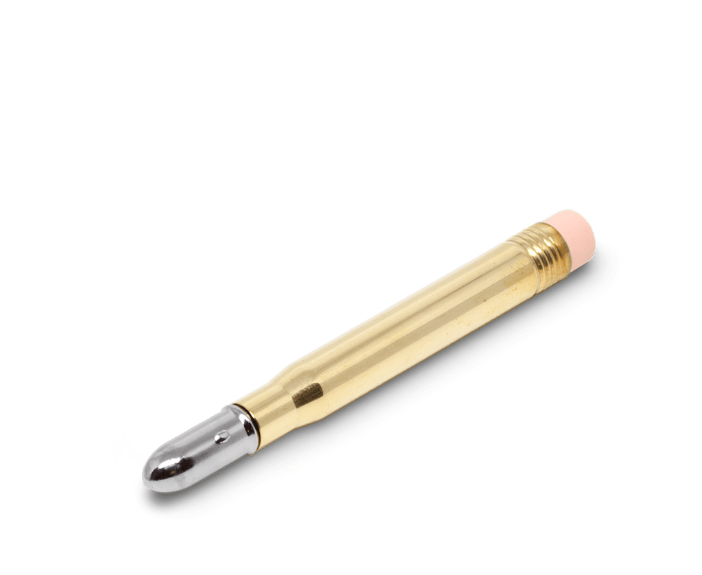 Traveler's Company Japan brass pencil. Traveler's Company Japan. Compendium Design Store. AfterPay, ZipPay accepted.