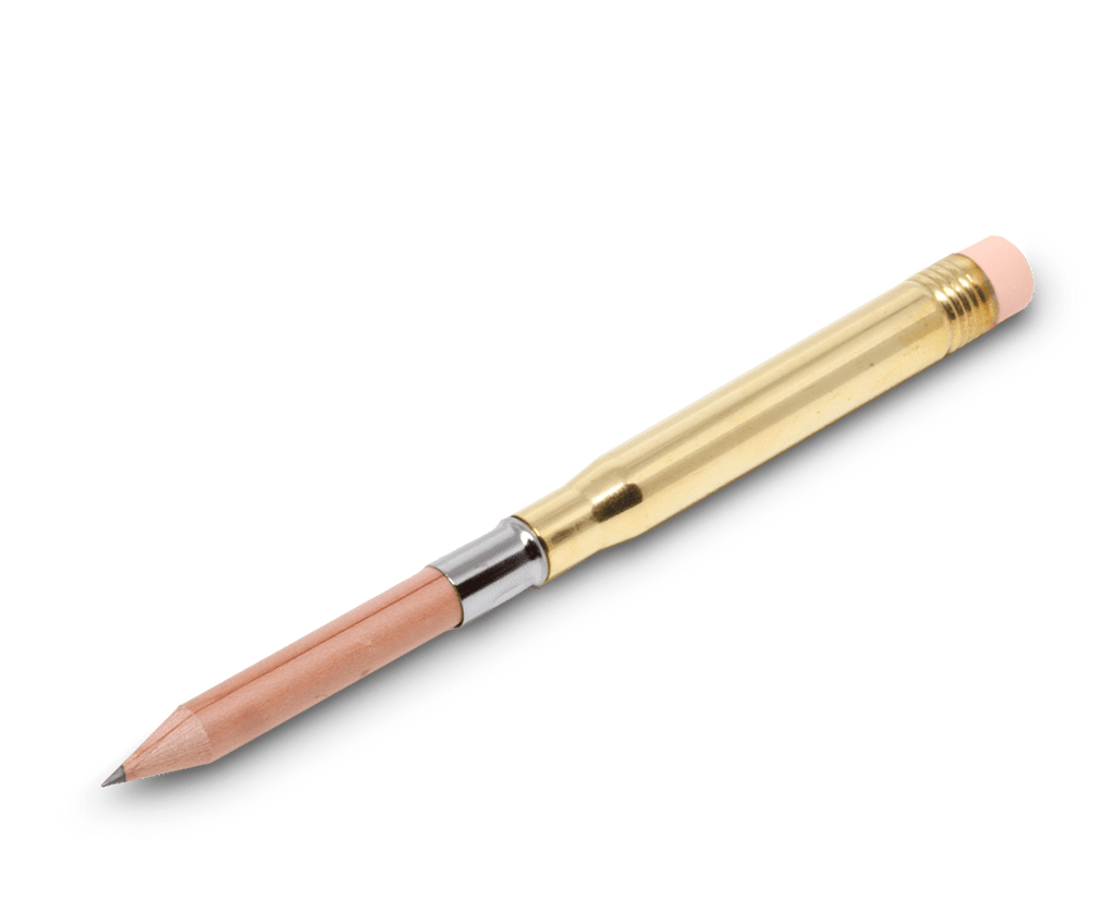 Travelers Company Japan Brass Pencil & Refills. Compendium Design Store, Fremantle. AfterPay, ZipPay accepted.