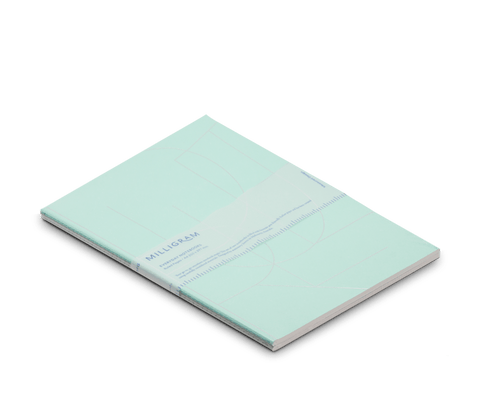 Basic A4 Notebook Set of 2 - Mint & Grey