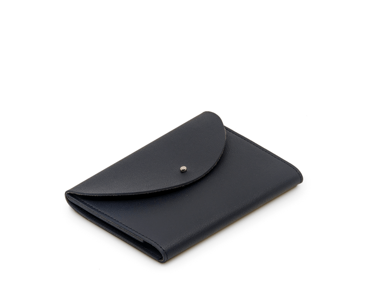 Minimalist Folio Compendium Small in Dark Navy Midnight
