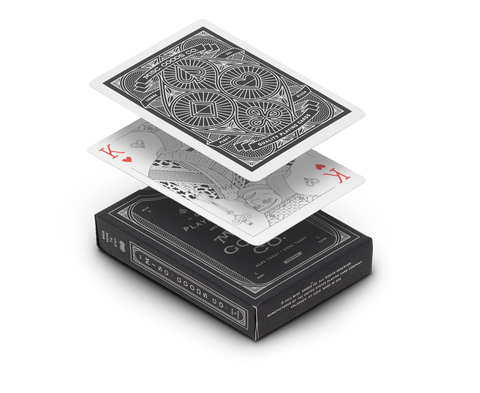 Playing cards in Black by Misc Goods Co. USA