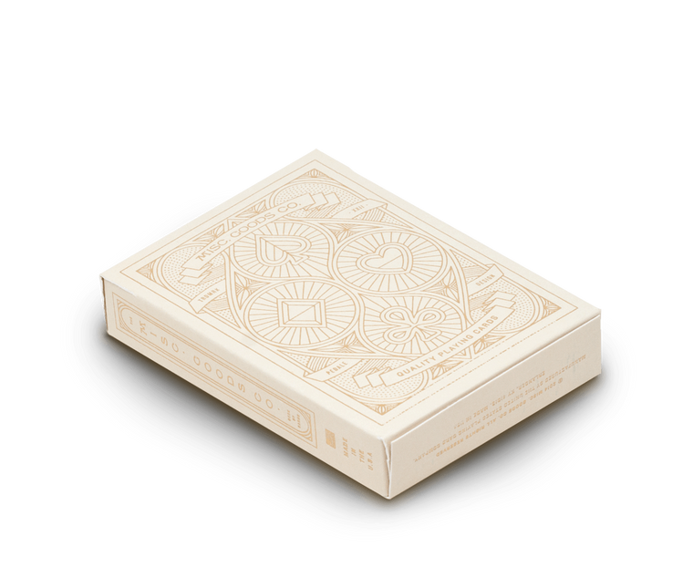 Playing cards in Ivory by Misc Goods Co. USA