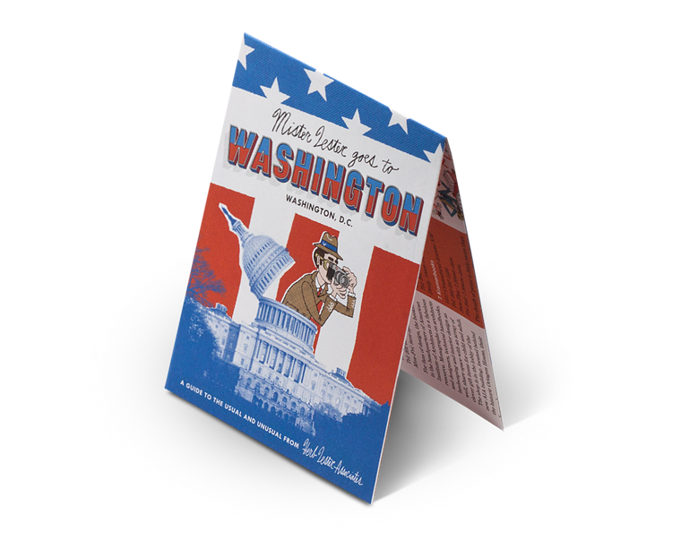 Washington DC: Mr Lester Goes To Washington. City Guide & Map by Herb Lester