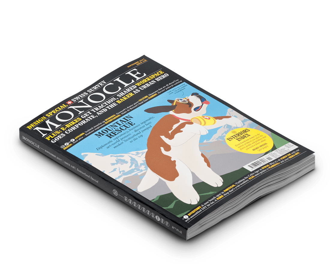 Monocle magazine · Issue 108