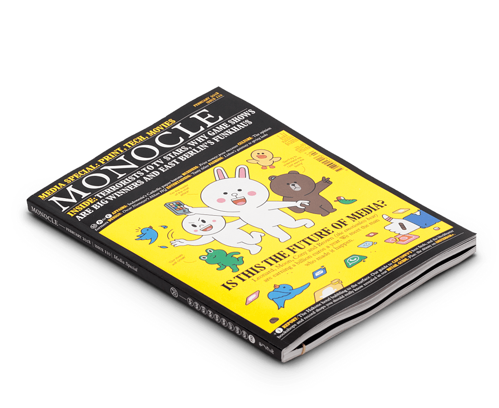 Monocle magazine · Issue 110 Feb 2018. Monocle. Compendium Design Store. AfterPay, ZipPay accepted.