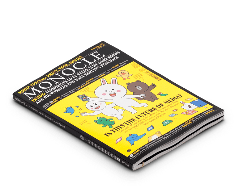 Monocle magazine · Issue 110 Feb 2018