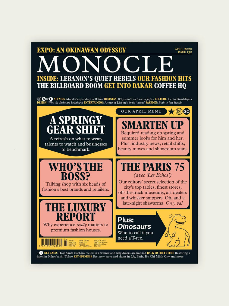 Monocle Magazine · Issue 132 April 2020