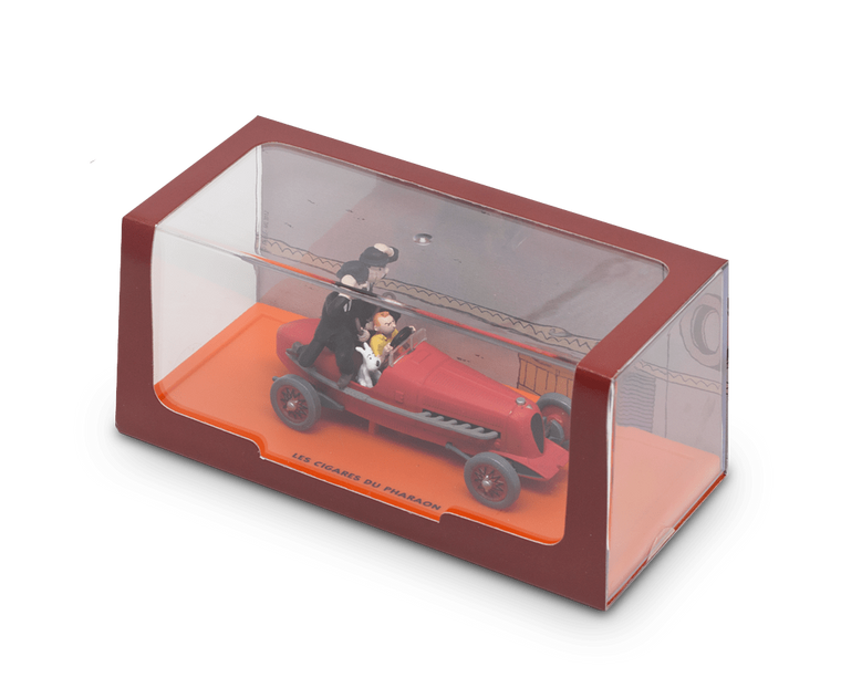 Boxed car collectable · The 'Bolide Rouge' Car