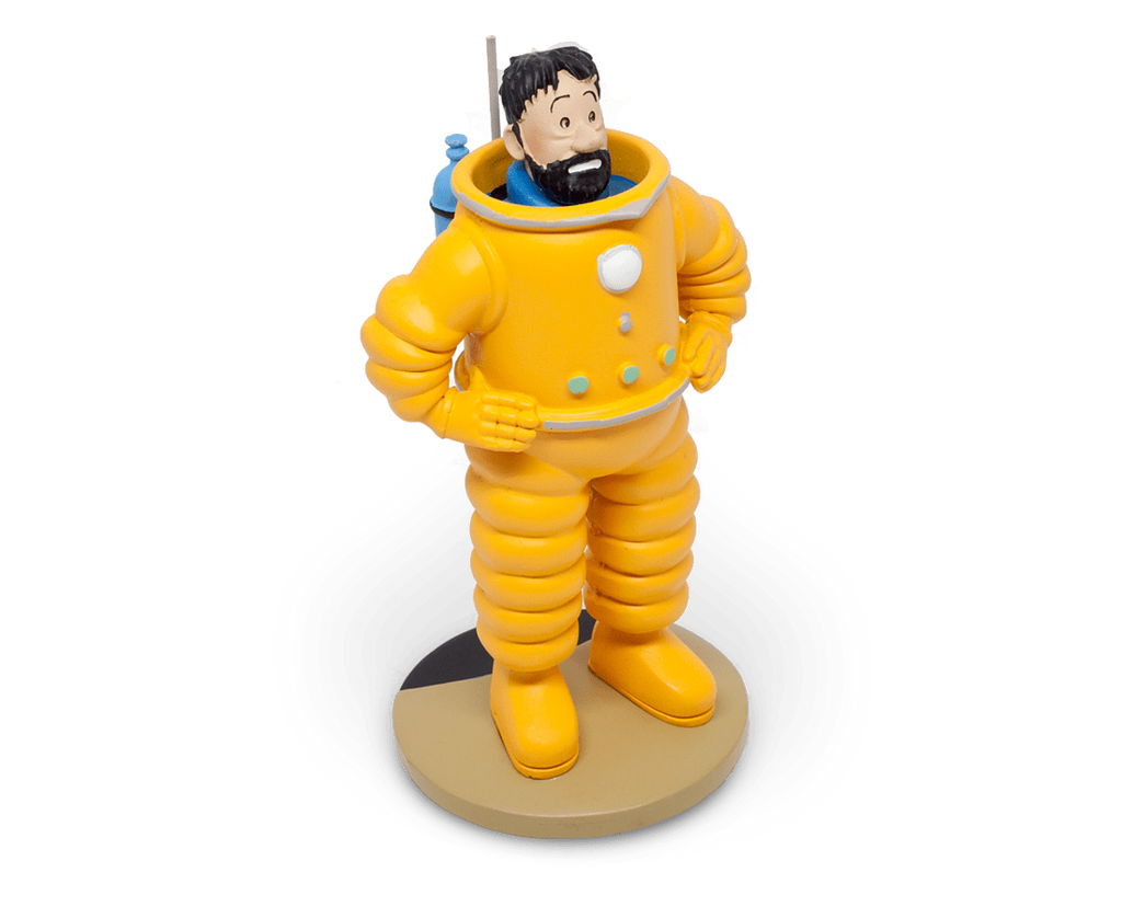 Captain Haddock The Adventures of Tintin Figure