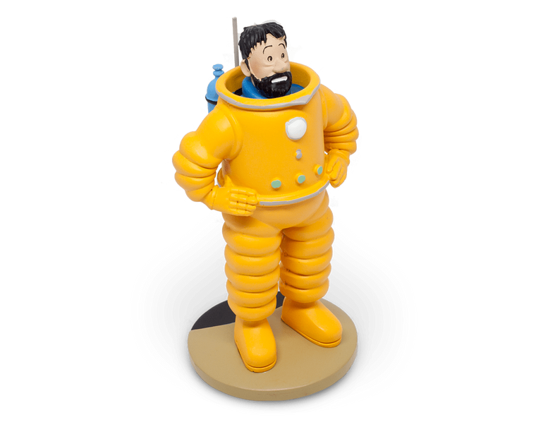 Captain Haddock Cosmonaute Resin Figurine