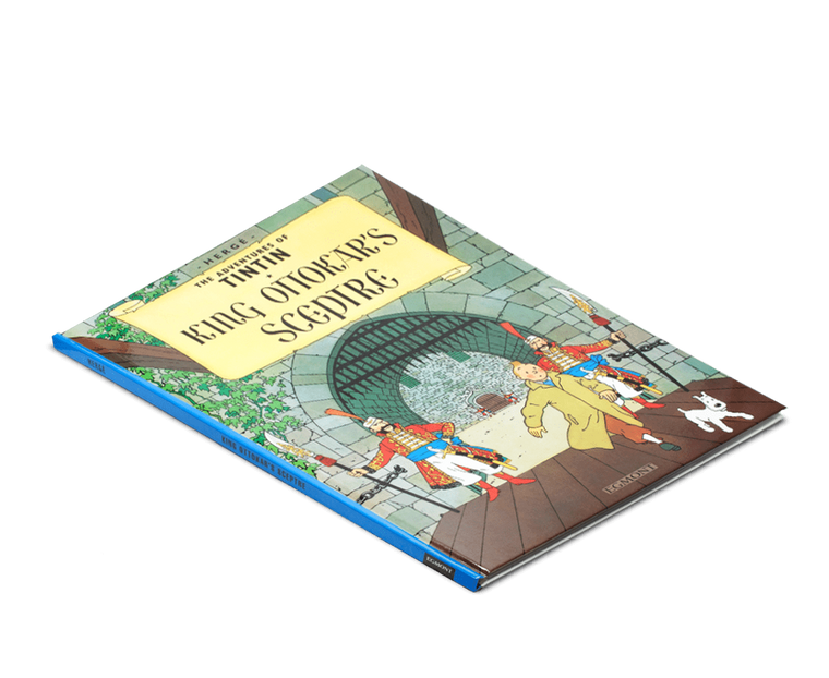 The Adventures of Tintin Book: King Ottokar's Sceptre