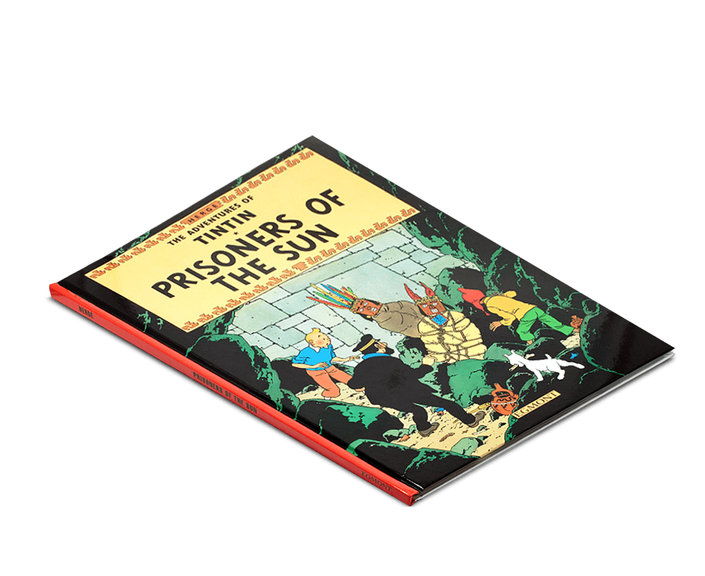 Moulinsart Tintin Hardcover The Adventures of Tintin: Prisoners of the Sun