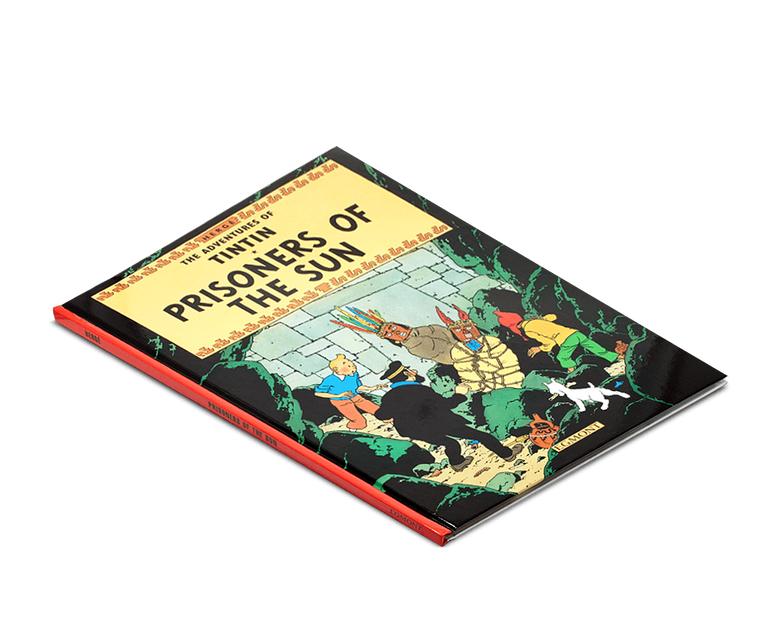 The Adventures of Tintin Book: Prisoners of the Sun