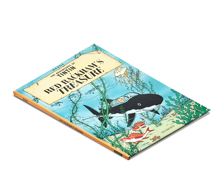 The Adventures of Tintin Book: Red Rackham's Treasure